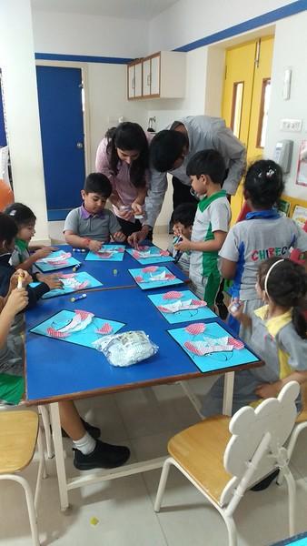 Parental Involvement in School Activity - Chimps on 13.2.2020