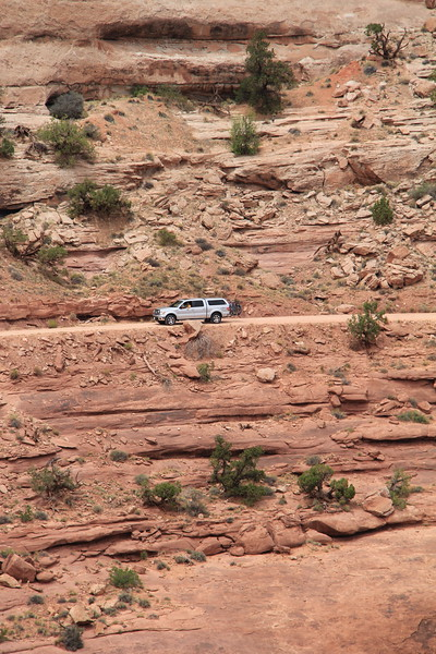 20180715-069 - Canyonlands NP - Shafer Trail from Shafer Canyon Overlook.JPG