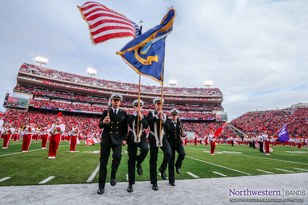 The @USNavy Presents the Colors