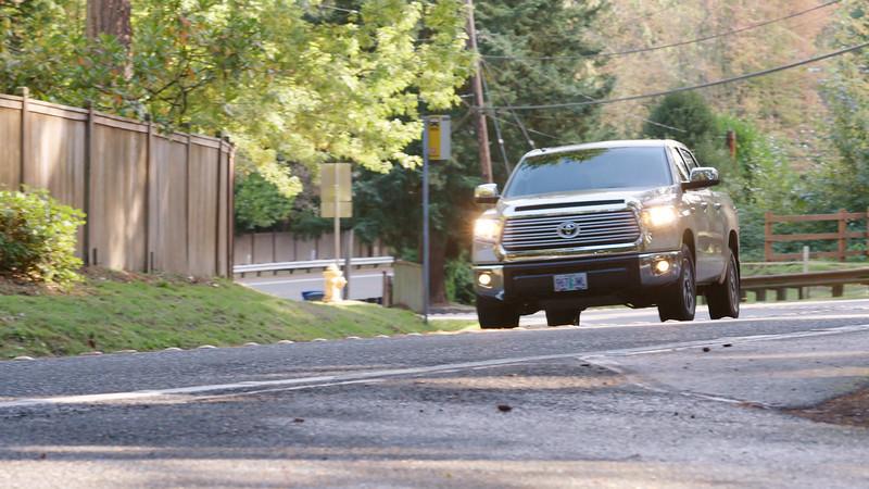 2017 Toyota Tundra TRD Driving Reel