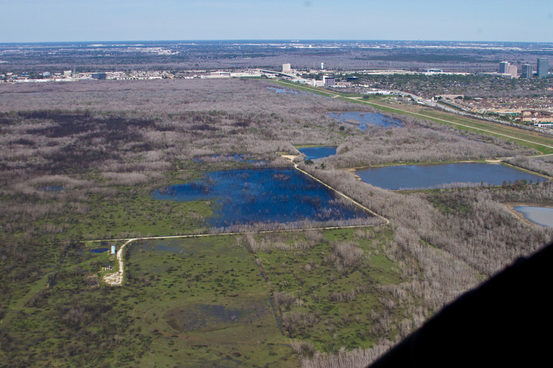 George Bush Park - Arial Photographs