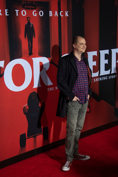 """LOS ANGELES, CALIFORNIA - OCTOBER 29: Mike Flanagan attends the premiere of Warner Bros Pictures' """"Doctor Sleep"""" at Westwood Regency Theater on Tuesday October 29, 2019 in Los Angeles, California. (Photo by Tom Sorensen/Moovieboy Pictures,)"""