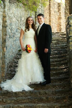 Melinda Armstrong and Tyler Neff wedding