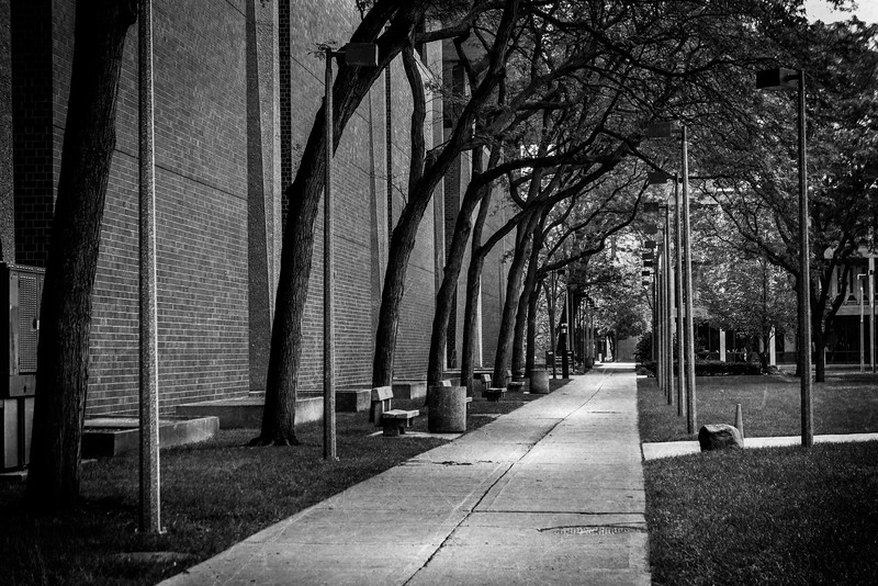 Walking down UIC