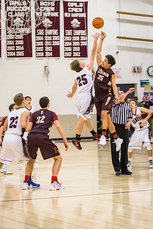 HHS BOYS BASKETBALL VS LEBANON