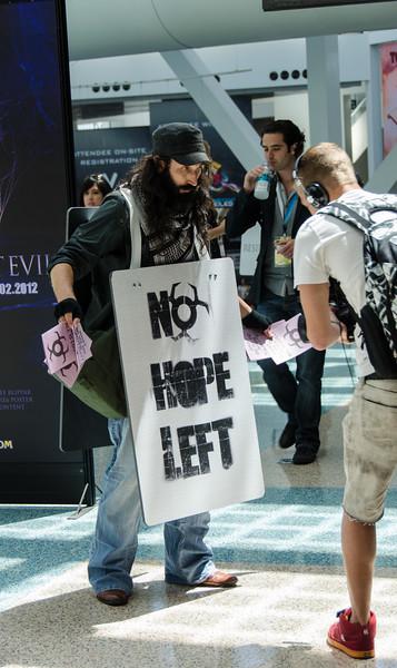 Resident Evil 6 promo at E3 2012