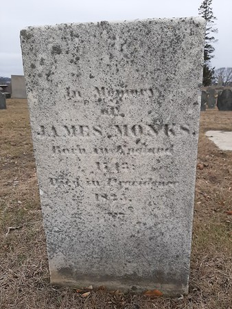 James Monks Grave