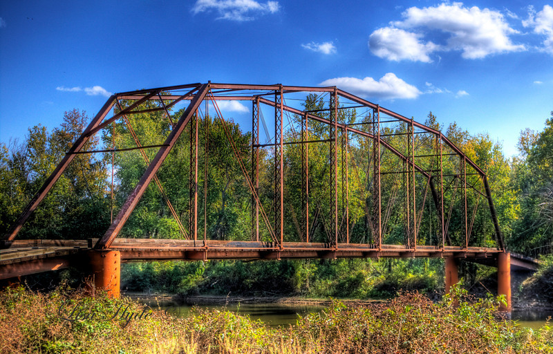 Ward's Crossing Bridge over the Fourche LaFave River, Yell County, AR
