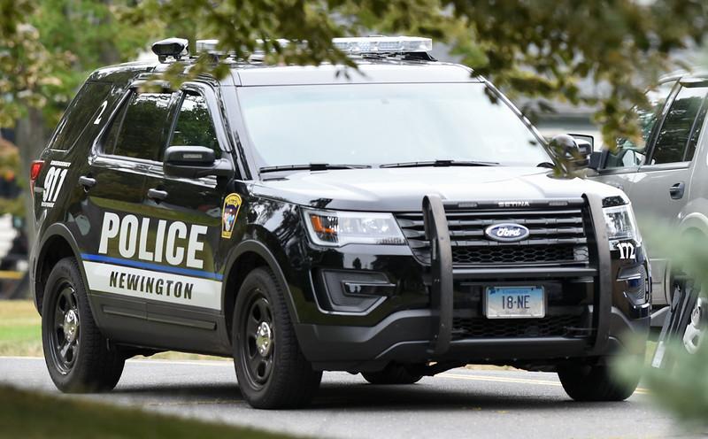 Wesley Bunnell | Staff A Newington Police Car