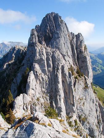 Gastlosen alpine climbing 2012