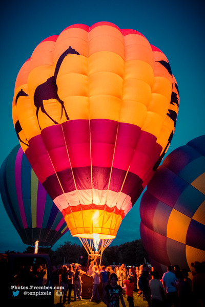 Plainville Hot Air Balloon Festival 2015