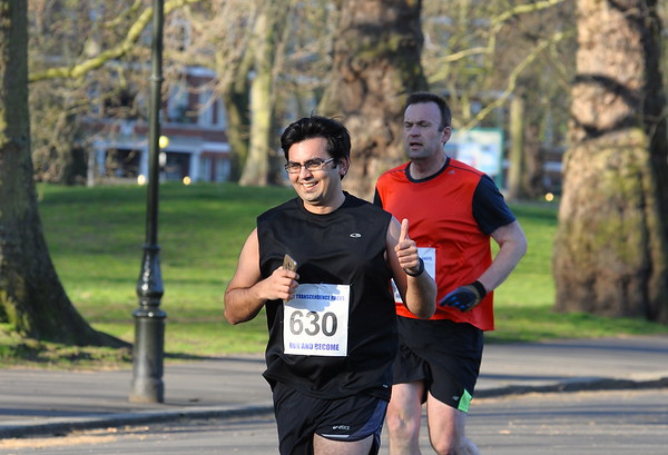 10 Miles RACE. 2 April. Battersea Park
