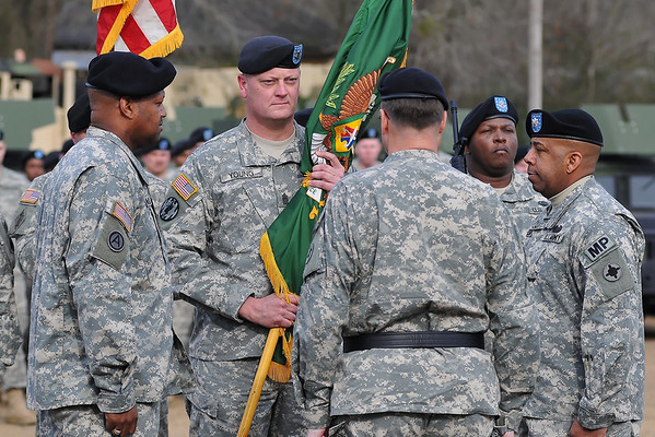 112th MP Battalion Change of Command