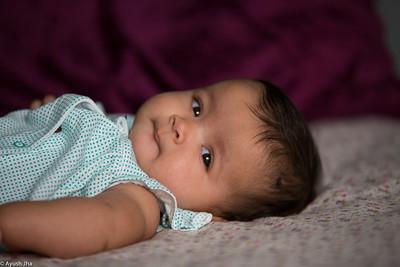 Aarya 4 Months Old