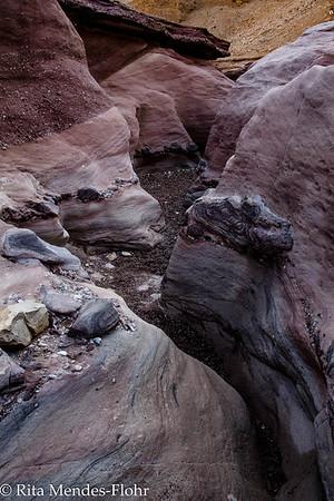Har Neshef, Red Canyon, Nahal Shani and Raham and over Har Ora  Jan 2015 Zafrir