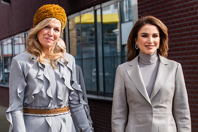 Koningin Máxima en Koningin Rania | Staatsbezoek Jordanië