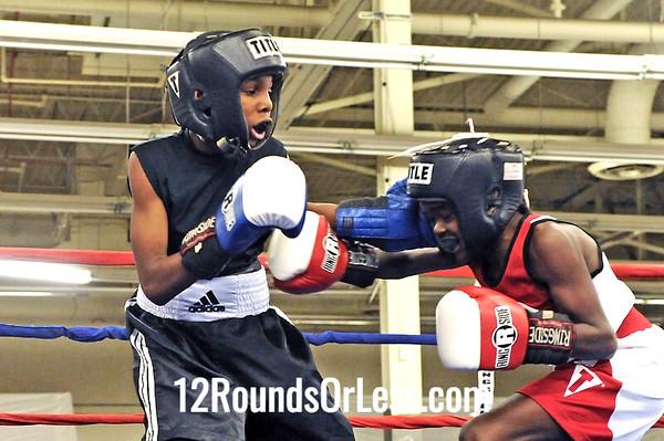 Bout 3 Khalil Abdullah -vs- Tyler Duncan, Junior, 80 lbs