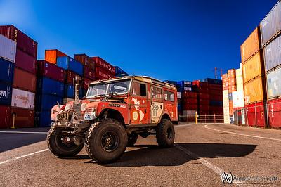 Erich's Land Rover