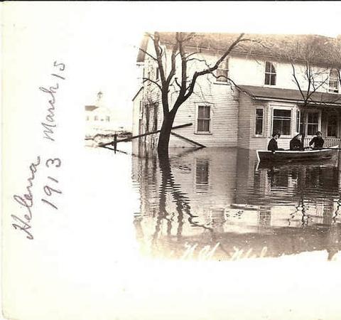 Helena N.Y.  Flooding March 15th 1913