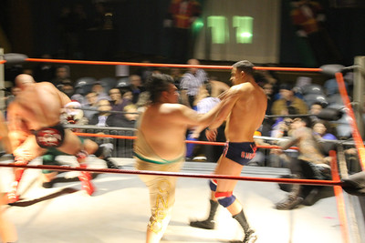 Top Rope Promotions Spindle City Rumble December 27, 2013