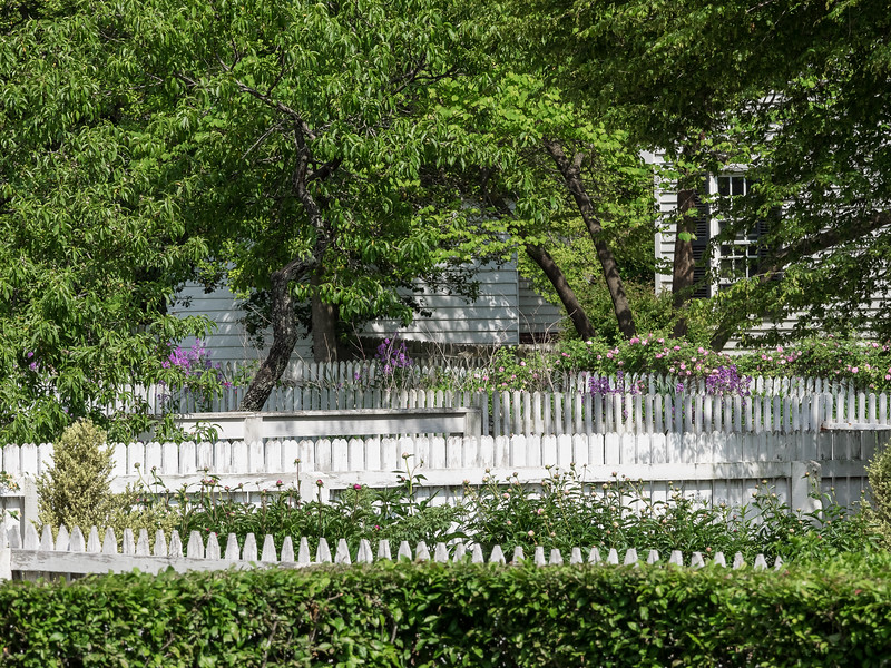 Fences and Gardens in Colonial Williamsburg