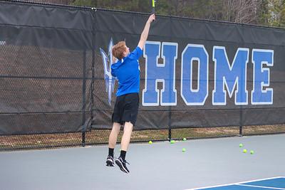 2021 Tennis vs. Harlason County - Photographer - Will Shepherd