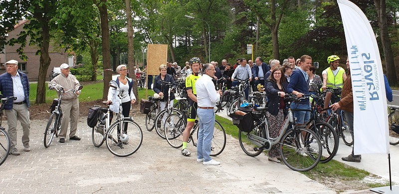 20190515 Inhuldigiing fietspad N12 Poppel-grens Goirle