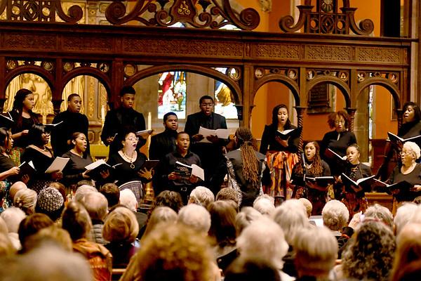 MLK concert event at Trinity Church, Lenox - 011920