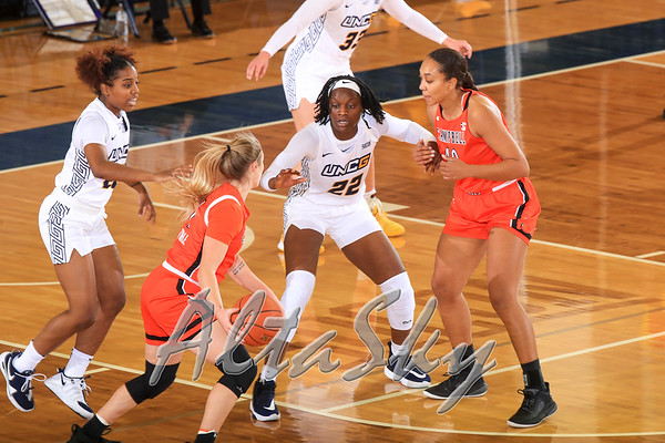 UNCG WBB VS CAMPBELL UPDATE 12-01-2020