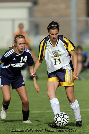 Valley Lutheran soccer North Branch May 20