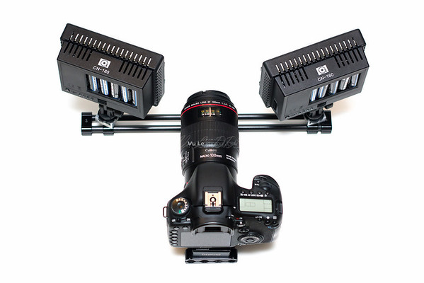 LED dual light rig