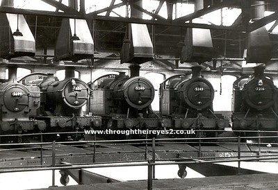 Churchward 5205 class (Later development of Churchward 4200 with larger cylinders and detail alteration)