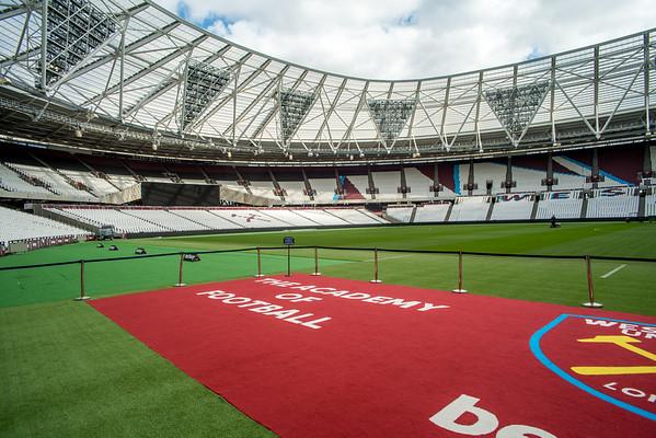 West Ham Stadion kierros