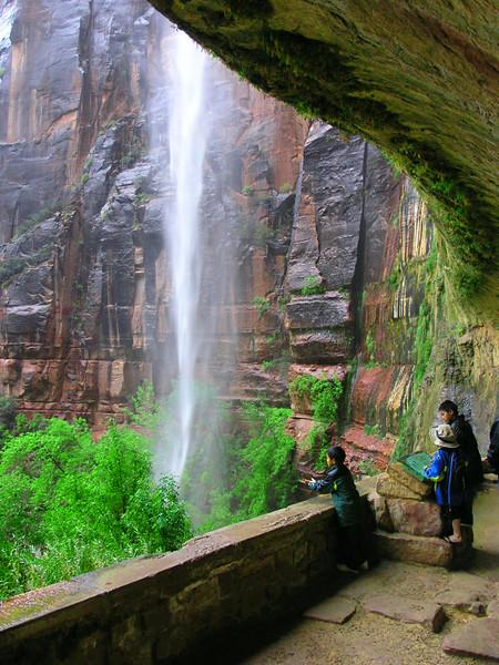 Zion -  Waterfall and Children - KCOT.jpg