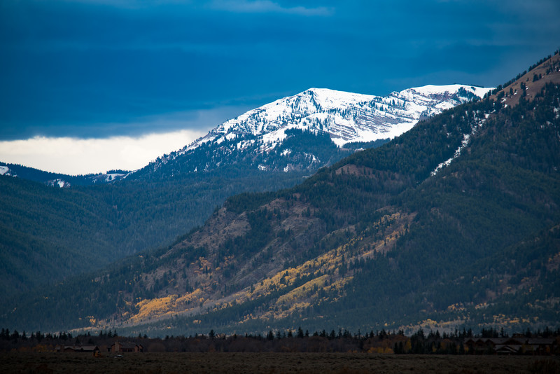 Fall in Grand Tetons National Park
