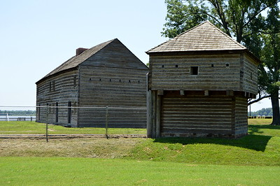 Fort Massac - Southern IL near Metropolis, on MS River