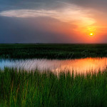 One of my favorite sunset shots.  The low country in South Carolina near Beaufort.