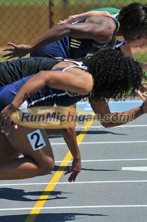 Men's and Women's 100 Meters - 2012 Gina Relays