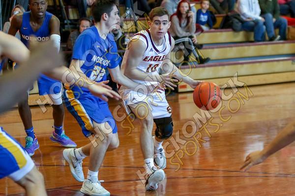 Sharon-Norwood Boys Basketball - 02-10-19