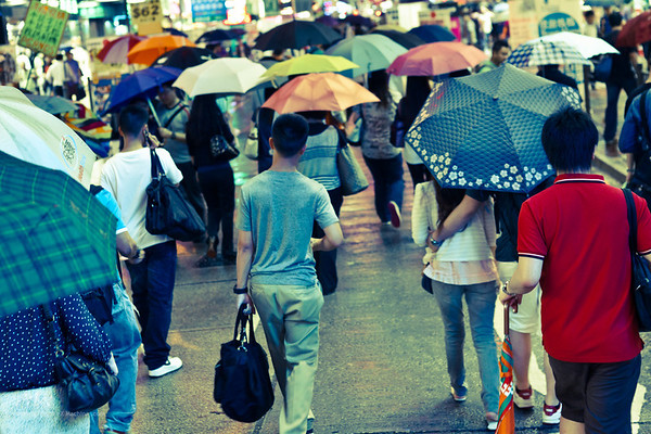 Hong Kong - street life