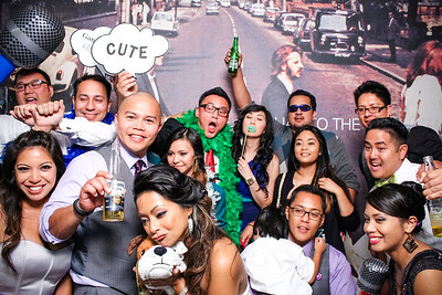 Brenda and Vince - Wedding Photo Booth