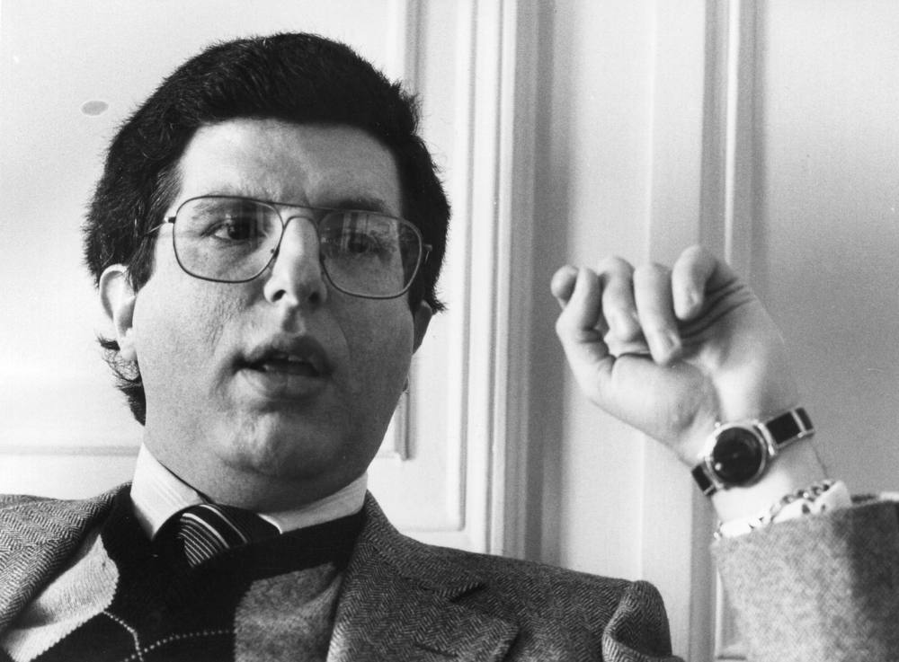 . Marvin Hamlisch (1944 - ) the American composer who created the music for \'A Chorus Line\'.  (Photo by Evening Standard/Getty Images)