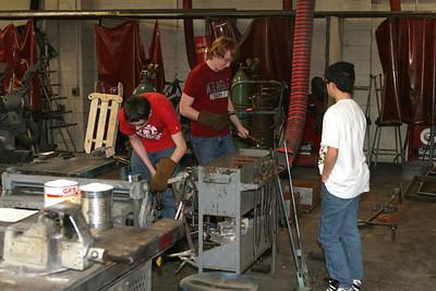 High School Classes - 2008-2009 - 1/7/2009 Metal Shop / Wood Shop