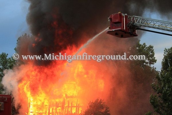 6/25/17 - Dansville prescribed burn, 2926 Williams Rd