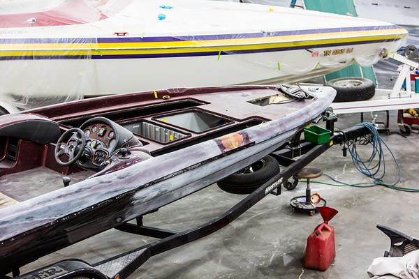 Bass Boat Fiberglass and Gel Coat Repair Bo's