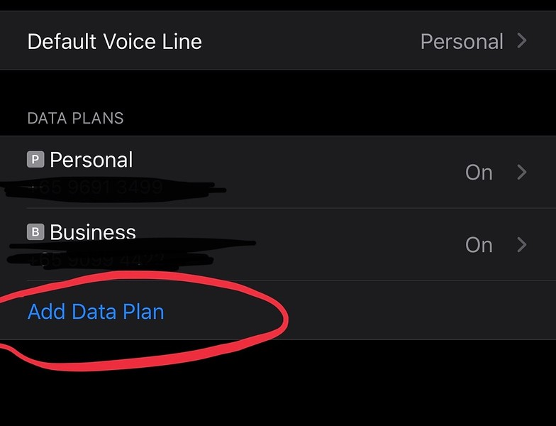 Adding a Data Plan to your iPhone