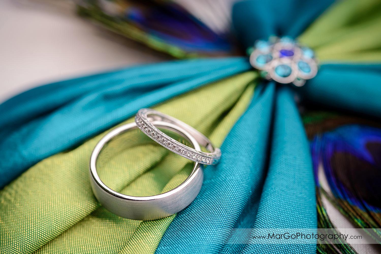 wedding rings at Hotel Shattuck Plaza in Berkeley