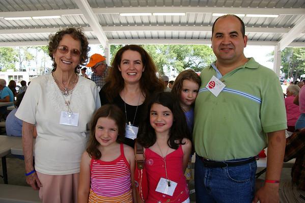 Macy Family Reunion 2009 Sulphur Oklahoma