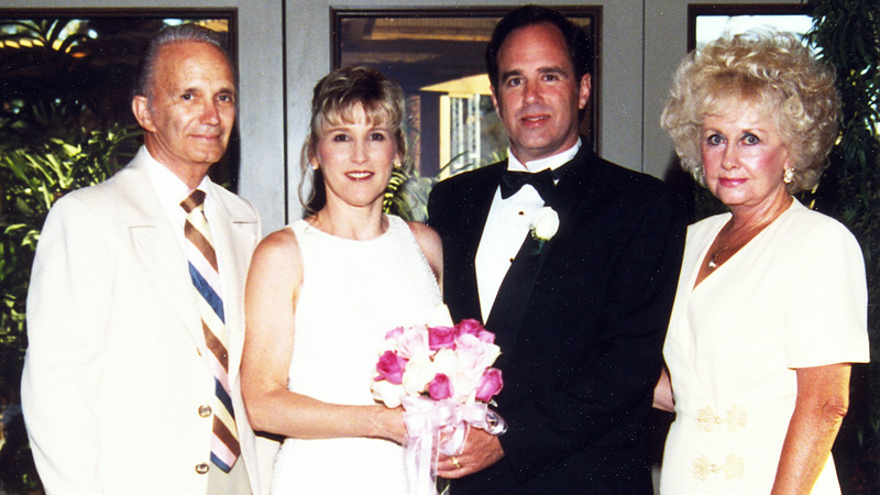 With my dad Ralph Sr. and my mom Betty