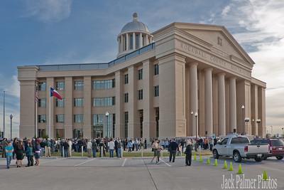Rockwall County Courthouse 'Veteran's Memorial Dedication.' 11 11 11 (TEXAS).
